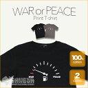 戦争と平和 WAR or PEACE FUELメーター Tシャツ | ファッション メンズ レディー