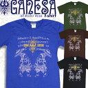 ガネーシャ Tシャツ インディア ヒンドゥー アジアン エスニック