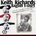 ショッピングレスポ キース・リチャーズ ラグラン Tシャツ ファッション メンズ レディース ローリングストーンズ ストーンズ ロックTシャツ ミュージシャン バンド バンドTシャツ ギターリスト The Rolling Stones