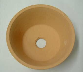 素焼き鉢 浅鉢 4.0号 ロクロ造り 1枚 植...の紹介画像2