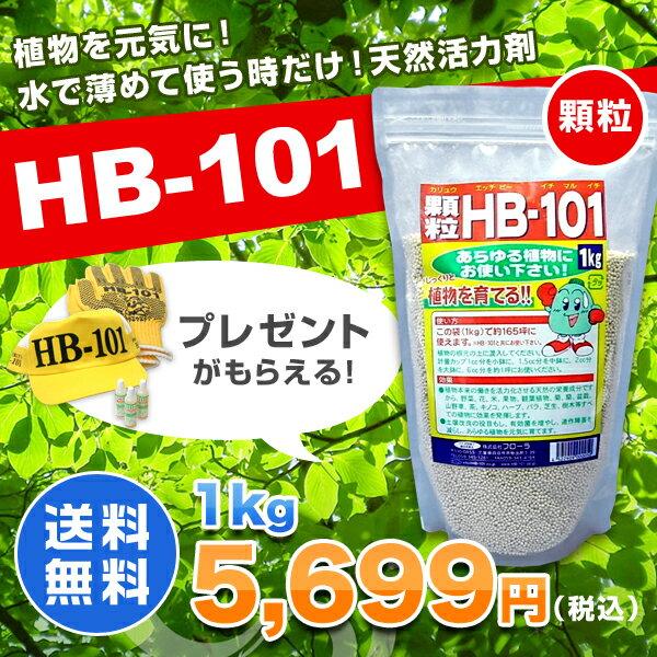 HB-101 顆粒 1kg 天然活力剤 HB101 【送料無料・代引手数料無料】 【プレゼント付】 【領収書発行可】