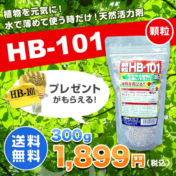 HB-101 顆粒 300g 天然活力剤 HB1...の商品画像
