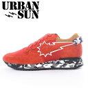 URBAN SUN(アーバンサン)ANDRE JA011 レッド 日本限定モデルメンズ スニーカー アンドレ カジュアルスニーカー