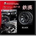 【ORIGIN】Jimny オリジン ジムニー 16インチ 6.0J インセット-20鉄漢 ブラック
