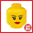 LEGO ストレージヘッド Lサイズ  収納ボックス pl-40321732収納 ボックス box 小物入 木製 アクリル ガラス 箱 フタ 蓋 折りたたみ ケース 衣装 雑貨 家具 shuunou bokkusu 収納 棚 ラック シェルフ ディスプレイラック キャビネット 見せる