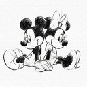 ミッキー ミニー アートパネル ディズニー Mickey M...