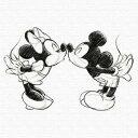 Disney - ミッキー ミニー アートパネル ディズニー Mickey Mouse XLサイズ 100cm×100cm lib-4122149s5送料無料 北欧 モダン 家具 インテリア ナチュラル テイスト 新生活 オススメ おしゃれ 後払い 雑貨