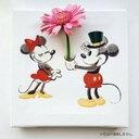 ミッキーマウス ミニーマウス IKEBANA 生きてるインテリア IKE-DSNY-1807-01 20×20×2.7cm ディズニー lib-6478441s1送料無料 北欧 モダ..