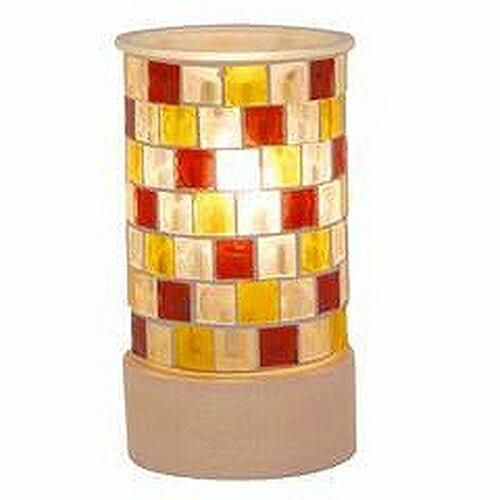 モザイクガラスアロマランプ