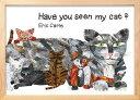 アートフレーム エリック カール Eric Carle ナチュラルフレーム Have You Seen My Cat 387x280x17mm ZEC-61873 bic-7566001s10送料無料 北欧 モダン 家具 インテリア ナチュラル テイスト 新生活 オススメ おしゃれ 後払い 雑貨