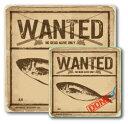 ショッピングステッカー 釣りステッカー アジ 鯵 Cタイプ 2枚セット FS018 フィッシング ステッカー 釣り グッズ