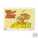トムとジェリー ミニポスター もぐもぐ キャラクター B5サイズ アメリカ アニメ TOM and JERRY 人気 かわいい インテリア アート TJ053 gs 公式グッズ