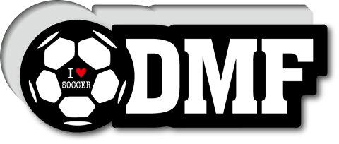 GSJ-005/サッカーポジションステッカー/ディフェンダーミットフィルダー/DMF/サッカープレイヤー/スタメン