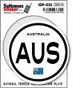 楽天ゼネラルステッカー国際識別記号ステッカー/IDP-03S/オーストラリア(AUSTRALIA) スーツケースステッカー 機材ケースにも!