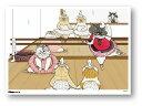 世にも不思議な猫世界 ミニポスター B5サイズ バレリーニャ POS132 KORIRI ステッカー グッズ