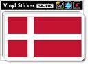 ショッピングステッカー SK336 国旗ステッカー デンマーク DENMARK