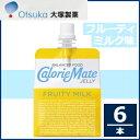 大塚製薬カロリーメイトゼリーフルーティ ミルク味215g×6本セットゼリー飲料タンパク質・脂質・糖質