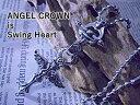 エンジェル クロス クラウン ネックレス 十字架 /ハードに造形された天使の羽根に心を奪われる【楽ギフ_包装選択】P27Mar1502P23Apr16