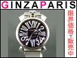 BWC-A4001 GaGa MILANO ガガミラノ 5080 4 マヌアーレ クオーツ SS SS メンズ ブラック文字盤 時計