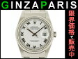 ロレックス 16220 デイトジャスト オートマチック SS SS メンズ ホワイト文字盤 時計 ROLEX 【中古】