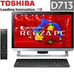 PD713T3LSXB 東芝 デスクトップパソコン REGZA PC D713/T3LB Microsoft Office搭載【smtb-k】【ky...