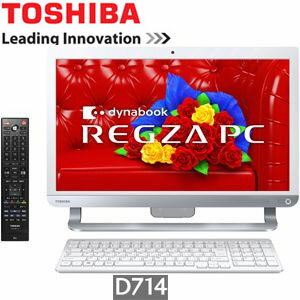 PD714T7LBXW 東芝 デスクトップパソコン REGZA PC D714/T7LW Microsoft Office搭載【smtb-k】【ky...