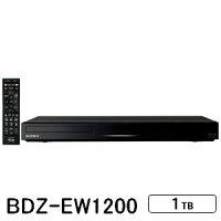 ソニー_1TB_HDD内蔵_ブルーレイレコーダー_BDZ-EW1200