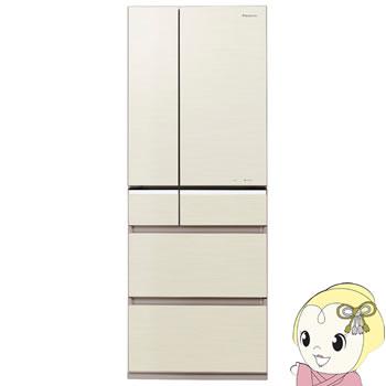 【設置込】NR-F552PV-N パナソニック 6ドア冷蔵庫551L Wシャキシャキ野菜室 シャンパンゴールド【smtb-k】【ky】【KK9N0D18P】