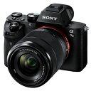 SONY ミラーレス一眼 デジタルカメラ α7 II ILCE-7M2K ズームレンズキット【smtb-k】【ky】【KK9N0D18P】