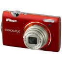 送料無料■【COOLPIX S5100 クリアレッド】 ニコン コンパクトデジタルカメラ【smtb-k】【ky】