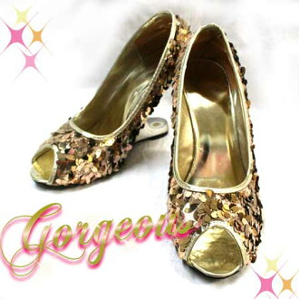 ◆ respond ◆ ギラキラゴー gorgeous ☆ generous span for constricted wedge pumps!