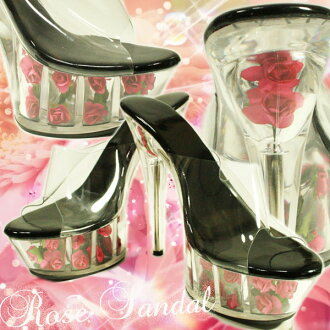 Corresponding ◆ ◆ the best compatibility and excellent impact ★ rose into high heels ★ dress! pink
