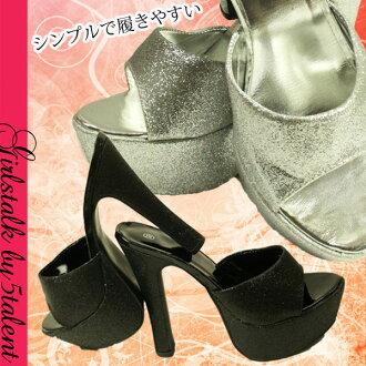 • 支援 • 疲勞,容易履kete ★ 秘密高度高度 ★ 秘密的酸 & 高高跟鞋 ★ 黑色與銀色瘸腿