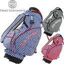 トランスコンチネンツ TRANS CONTINENTS スタンドキャディバッグ TCCB-006