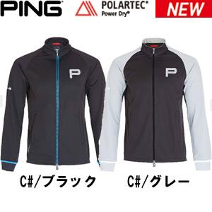ピンアパレル PING apparel ストレッチ スタンドカラージップアップジャケット Stand Collar Zip-Up P33234 2016年秋冬新作!少ない(少ない)