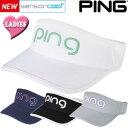 PING ピン Ladies Tour Visor レディースツアーバイザー 33412