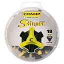 ネコポス      CHAMP スコーピオン スティンガー3 Q-LOK ゴルフシューズ用 スパイク鋲 18個入り S-88
