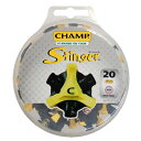 ネコポス      CHAMP スコーピオン スティンガー3 ミリ  国産シューズ用  ゴルフシューズ用 スパイク鋲 20個入り S-87 20個入り