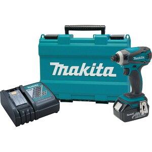 【日本仕様】MAKITA マキタ 18V インパクトドライバー 4点セット!インパクト + 急速充電器 DC18RC + 純正バッテリー BL1830 + 専用ハードケース /電動ドリル 震動 コードレス TD146DZ  同等品