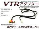 VTR入力アダプター 日産 エルグランド E51 H19.11〜H22.7 外部入力 メーカーナビ用 純正ナビ用 VTRアダプター