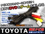 【】トヨタ 純正ナビ用 外部入力 VTRアダプター1.2m メス・車 走行中にiPod / iPad / iPhone 4やDVDプレーヤーが見れる 半額以下