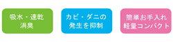 【送料無料】速乾バーミキュライト珪藻土バスマットコンパクト