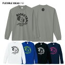 バスケットボール 長袖 tシャツ 「Flexibleideas(タイプA) 」 ( S M L LL )ドライロンT バスケシャツ バスケウェアバスケロンT ミニバ..