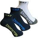 バスケットボール ソックス【G★F】ブラック ローカットソックス サポート ショートソックス 日本製 靴下 バッソクグリンファクトリー くるぶし メンズ