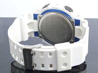 【CASIO/G-SHOCK】【カシオ/Gショック】ジーショック腕時計うでどけいメンズmen'sレディースLadiesレディースデジアナアナログデジタルホワイトxブルーGA-100B-7【国内品番:GA-100B-7AJF】