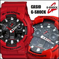 ��CASIO/G-SHOCK�ۡ�����̵���ۡڥ�å�/�֡ۡڥ��ʥǥ�����ӥ͡������ۥ������ӻ���G-����å����ʥ?�ǥ�����GA-100B-4GA100B-4���Ǥɤ�����ǥ�����men's