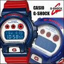【あす楽対応】G-SHOCK ブルーxレッド DW-6900AC-2