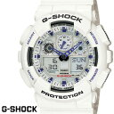 G-SHOCK 白 腕時計 メンズ レディース GA-100...