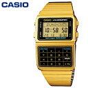 【送料無料】チープカシオ データバンク DATA BANK 腕時計 CASIO DBC-611G-1 ゴールド