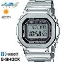 G-SHOCK ジーショック 腕時計 うでどけい メンズ men's 電波ソーラー Bluetooth GMW-B5000D-1 デジタル メタル シルバー